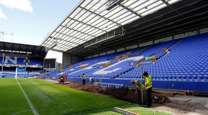 Soccer - Everton FC - Goodison Park Stadium Upgrades