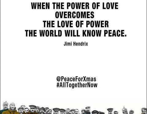 #ThePeaceCollective #1 ; Toffee S Ticket Holder Keith Mullin on ; WHY #ALLTogetherNow should be Xmas 2014 #1